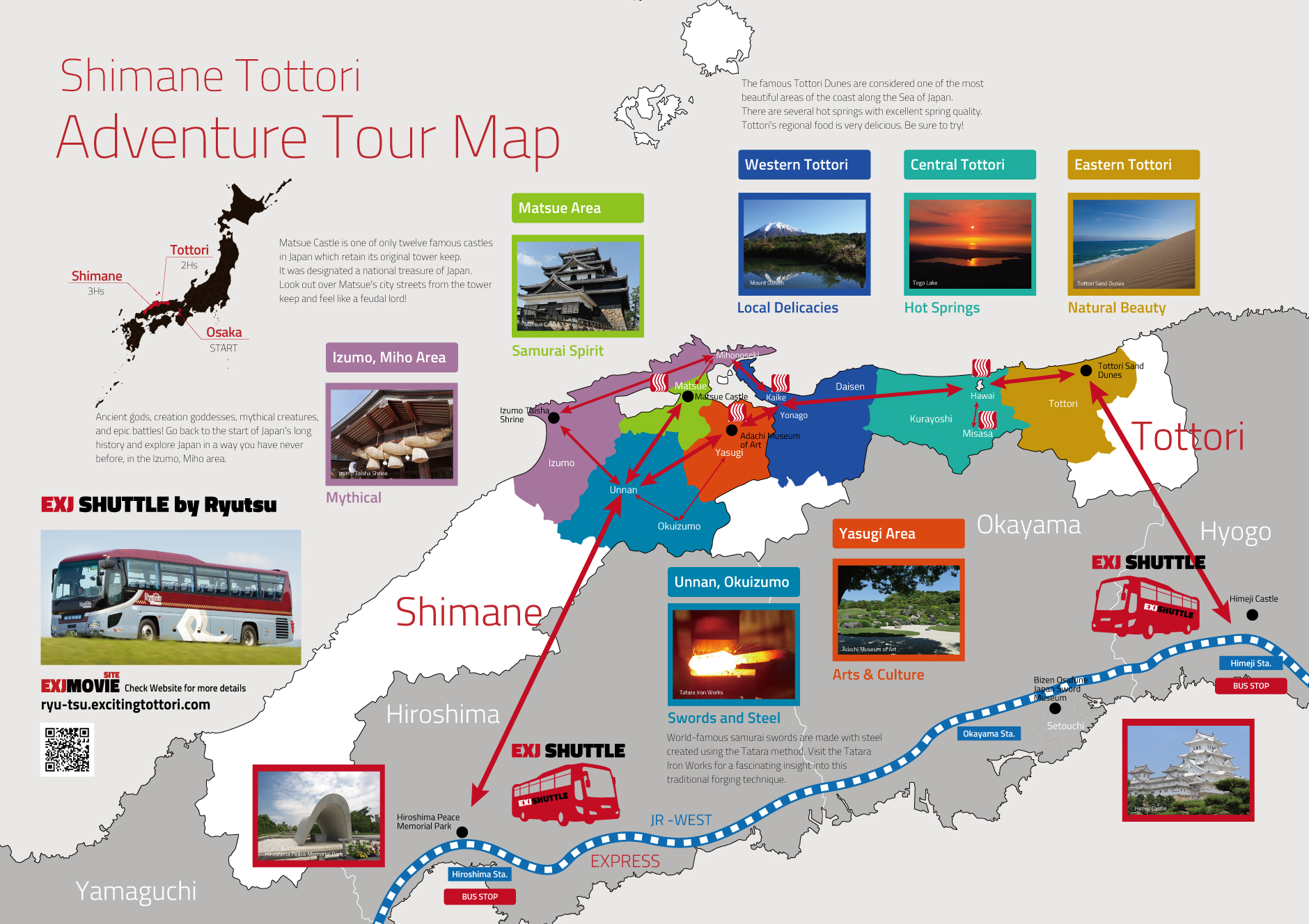 Tour Guide Map – Japan Tourist Map